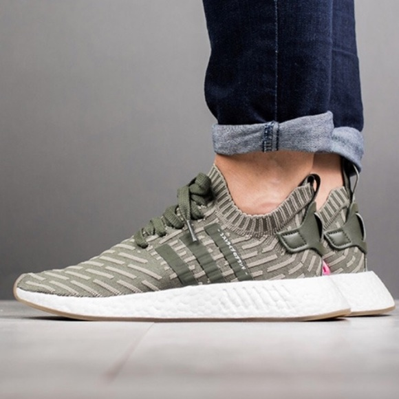 5d5200a1c06f2  Adidas  NMD R2 Japan Primeknit Sneakers BY9953
